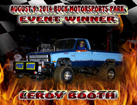 AUGUST 9, 2014 BUCK EVENT WINNERS