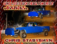 JUNE 1, 2013 BUCK DIESEL POWERFEST WINNERS
